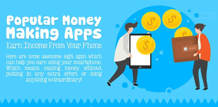 Popular Money Making Apps- [Infographic] - Teach a CEO